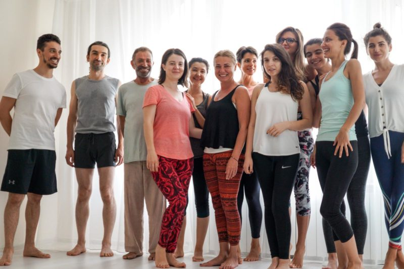 Clasa de yoga
