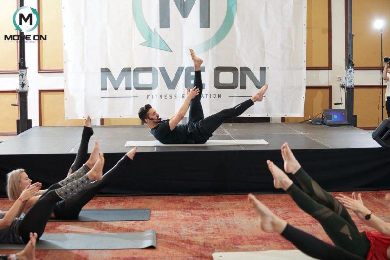 pilates; clasa de pilates de la conventia internationala YIN & YANG bucuresti 2018 1