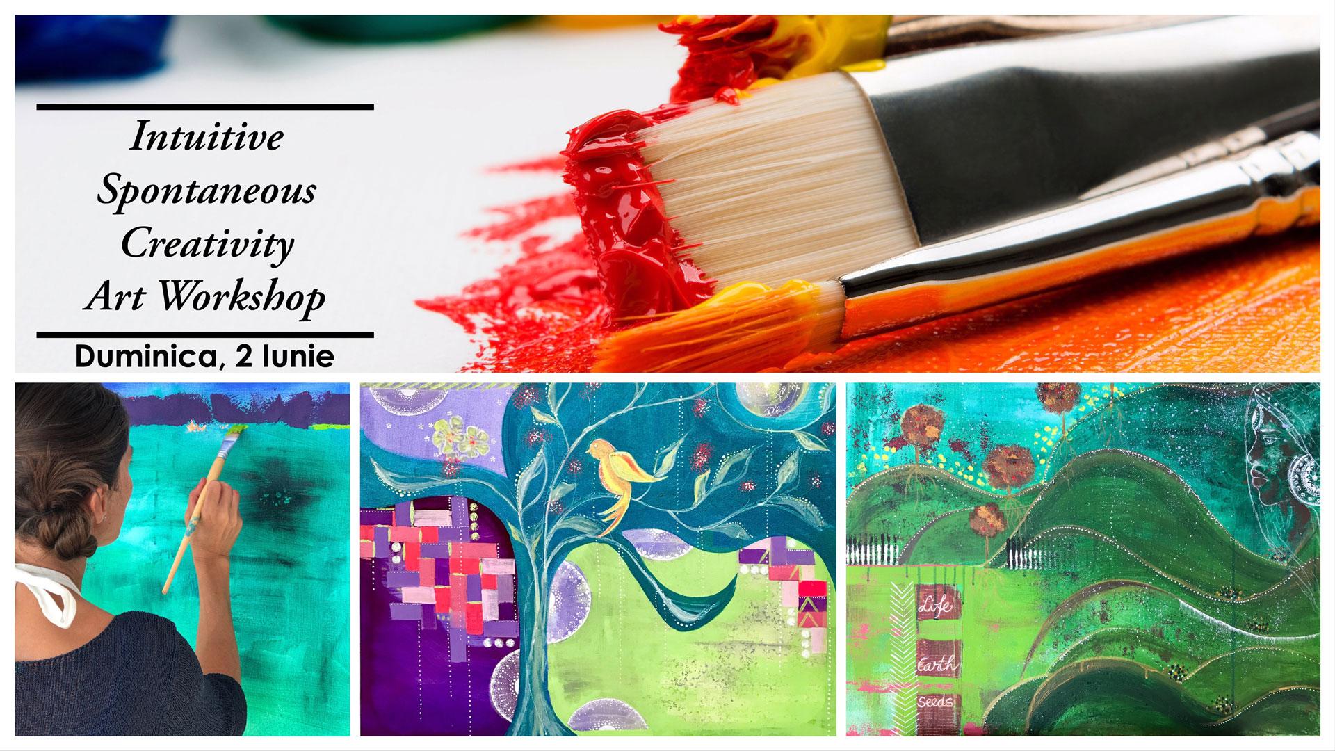 Atelier de Pictură Intuitivă și Creativitate