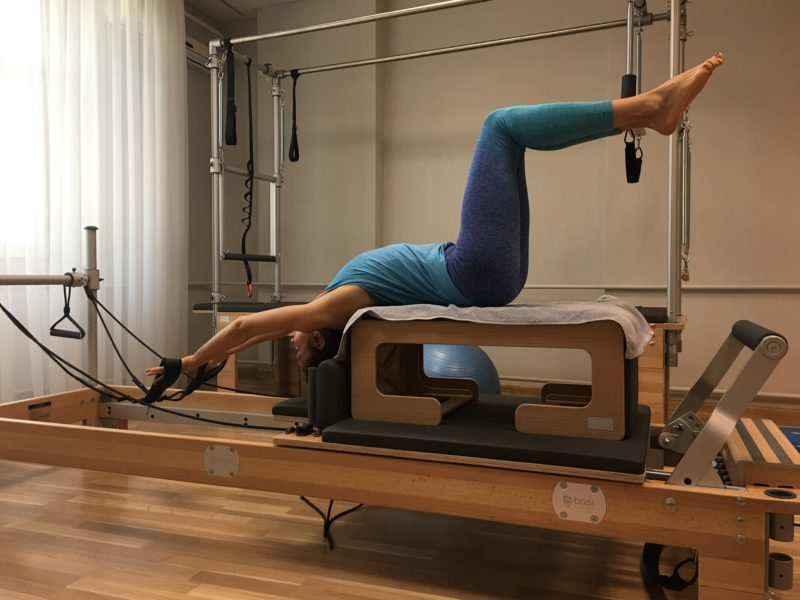exercitii pentru spate in cadrul sesiunilor de pilates