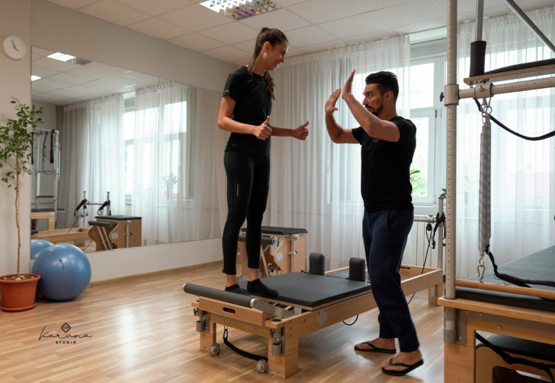 antrenament pilates