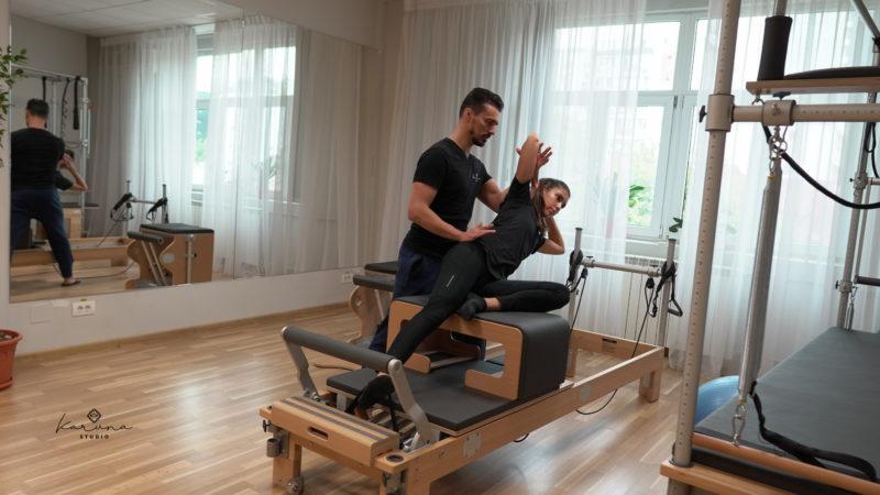 corectura posturii prin pilates