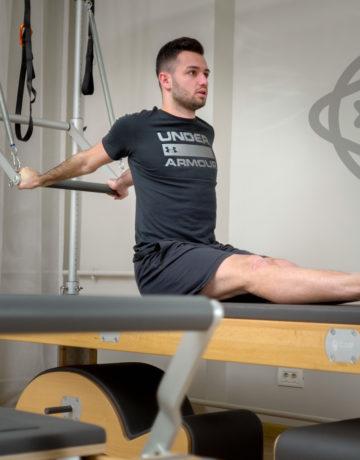Bogdan Rotaru antrenor pilates Karuna Studio