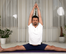 Acces Clasa online Hip opening yoga for side split
